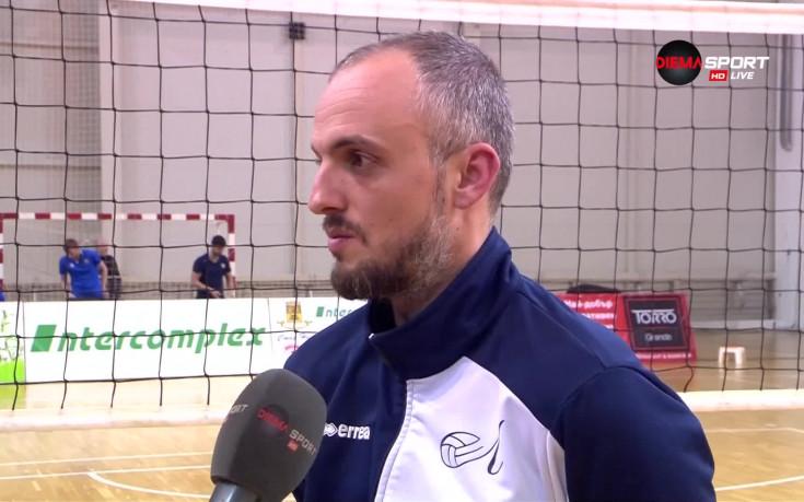 Треньорът на ВК Левски: Вече няма какво да губим