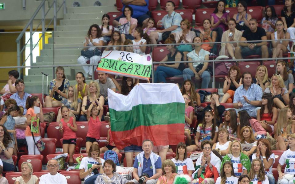 Чудесни изненади за феновете в залата по време Световната купа