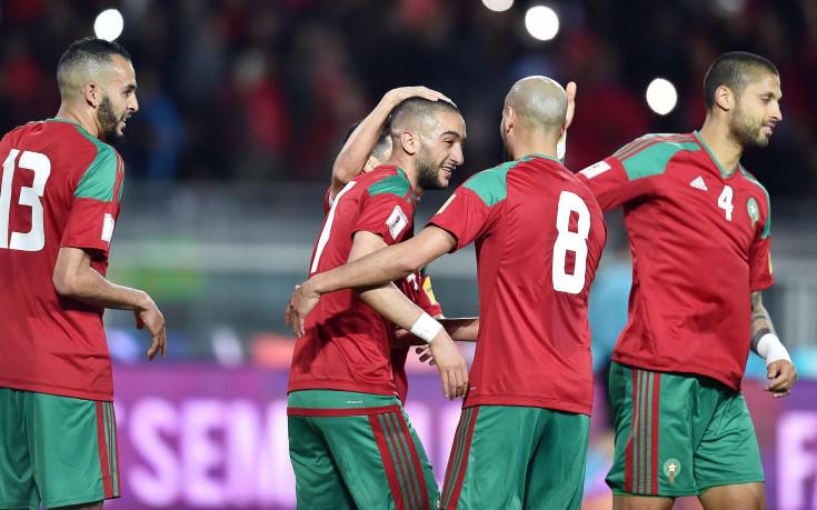Мароко удари Естония и мисли за Мондиала