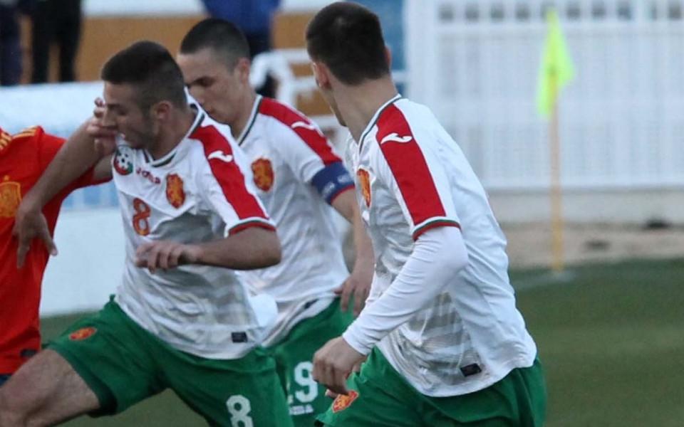 Юношите срещу Белгия в последния си мач от евроквалификациите