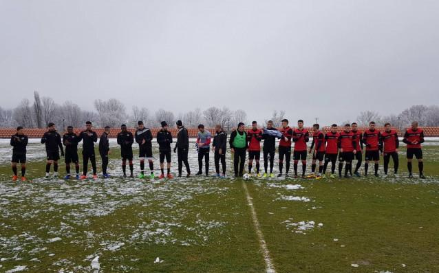 Представителният отбор на Локомотив победи с 8:0 юношите до 19