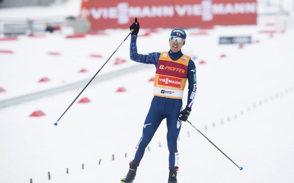 Акито Уатабе с триумф в последния старт за сезона в ските северни дисциплини