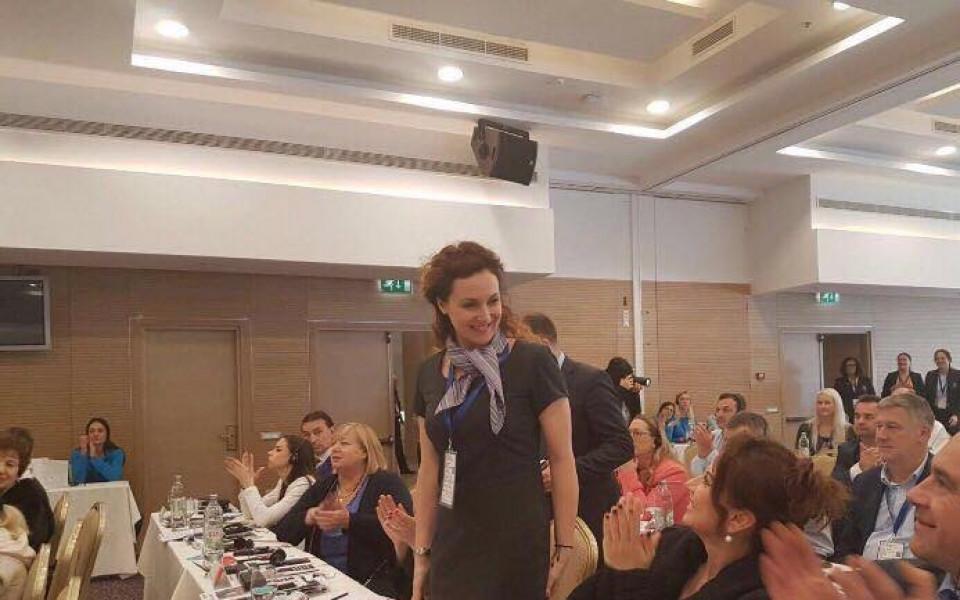 Мария Петрова избрана за посланик на Световното по ХГ в София