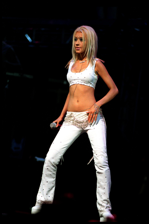 Кристина Агилера през 2000