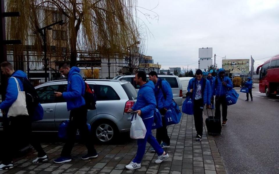 След 12 часа път Академик Бултекс 99 пристигна в Призрен