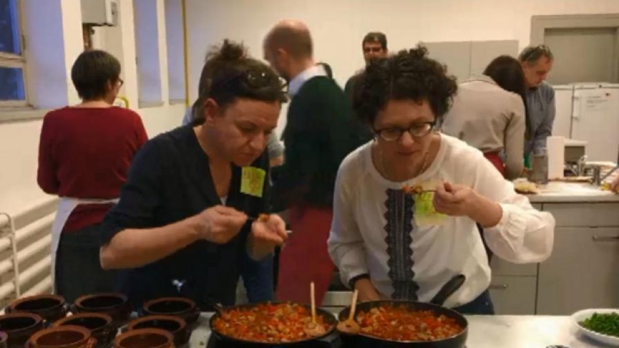 Германци се учат на българска кухня (ВИДЕО)