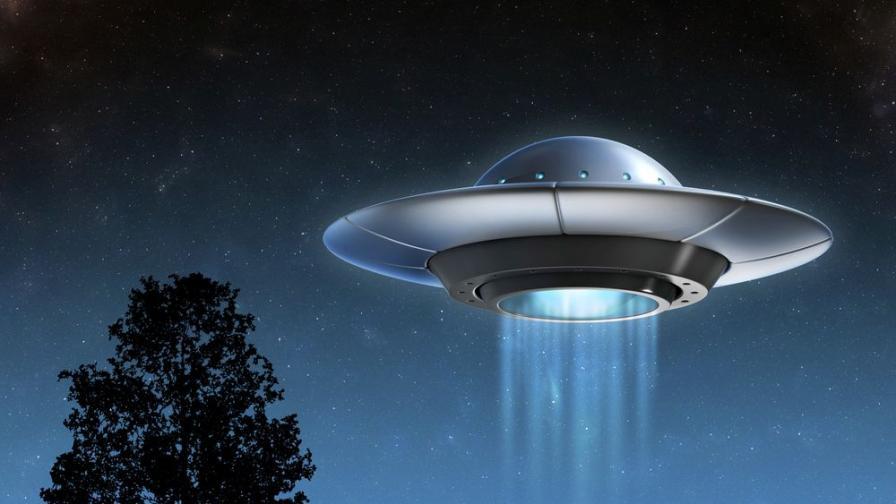 Една история за ловци, които виждат НЛО