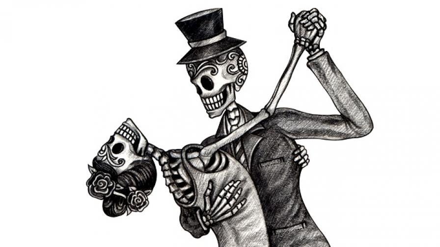 смърт скелет