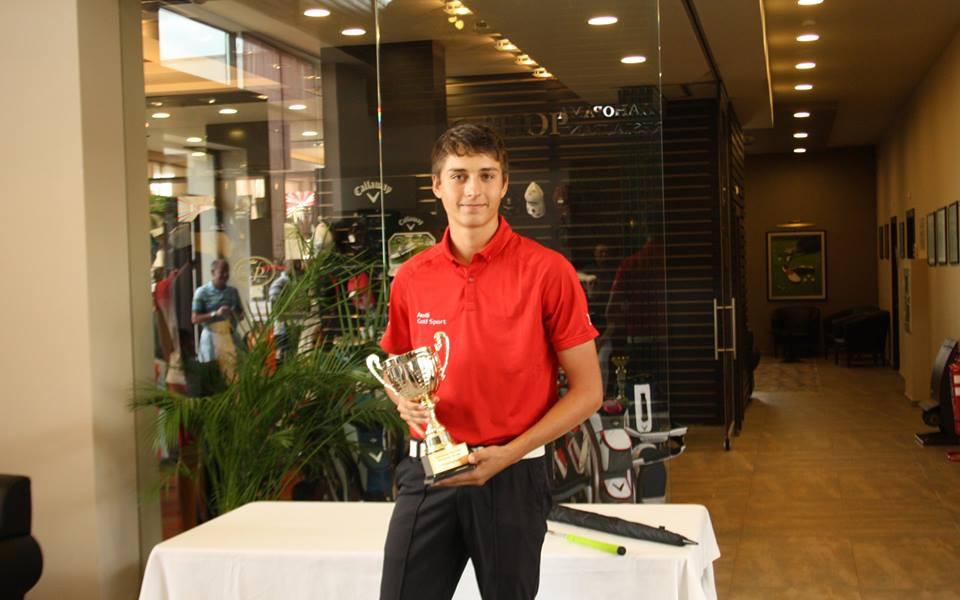 Райан Стайков ще участва на международен турнир по голф в Англия