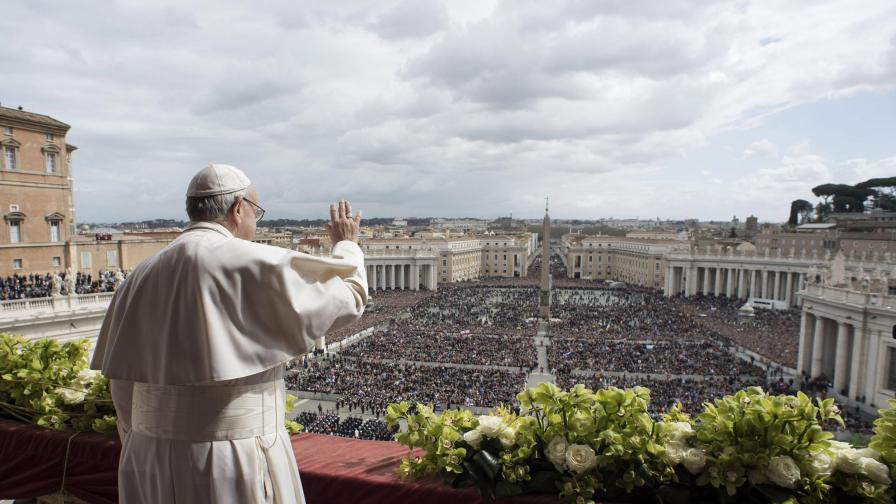 Ето какво пожела папа Франциск на света за Великден