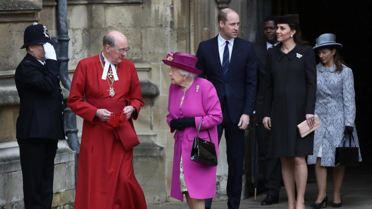 Кралски Великден: как прекараха празника кралица Елизабет II, Кейт Мидълтън и принц Уилям