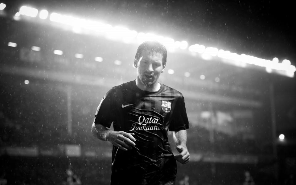 Снимка на Меси стои за пример в академията на Ман Юнайтед