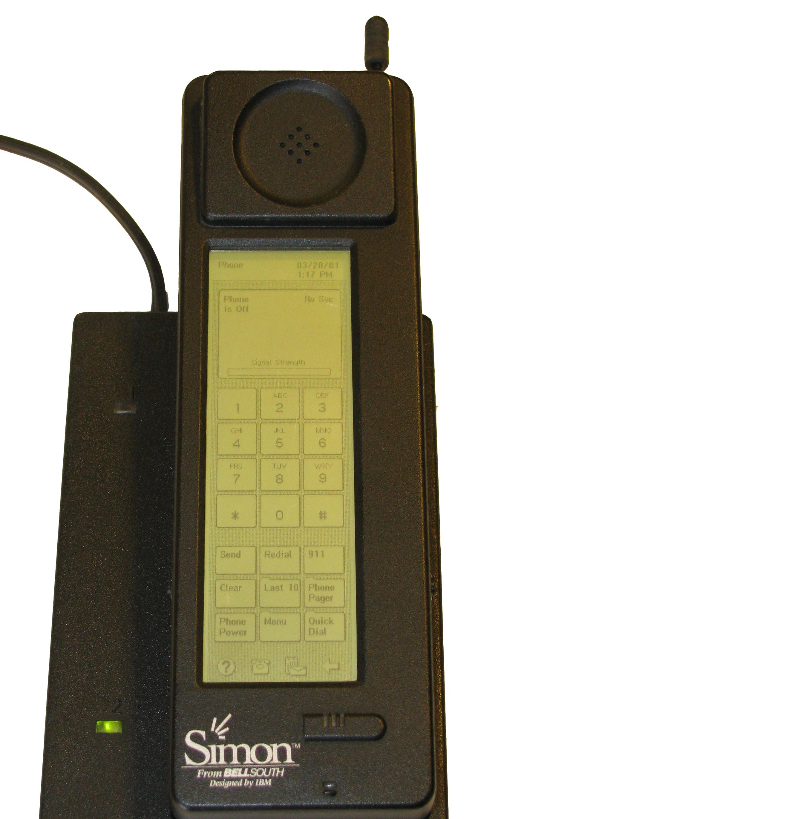 IBM Simon Personal Communicator - Това е първият смартфон, представен през 1993 г.