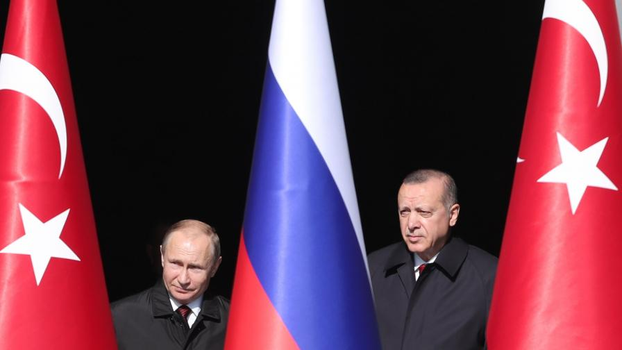 Ердоган: С Русия ще прекратим ужаса в Сирия