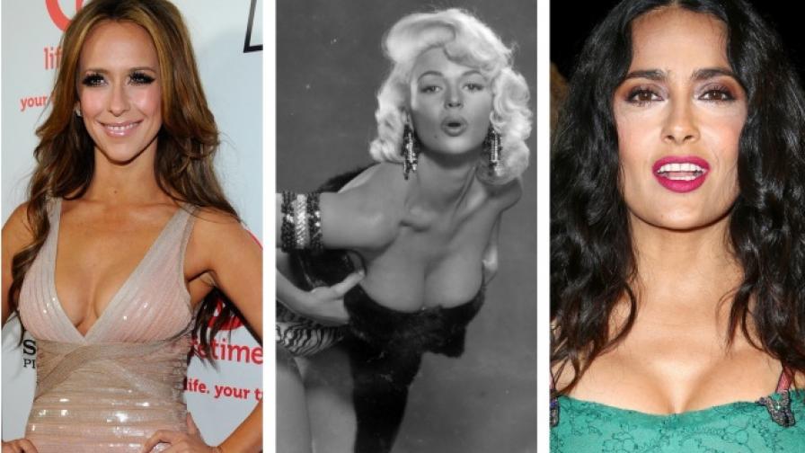 10 известни жени с естествено големи гърди (СНИМКИ)