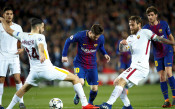 Барселона - Рома, първи четвъртфинал, Шампионска лига<strong> източник: БГНЕС</strong>