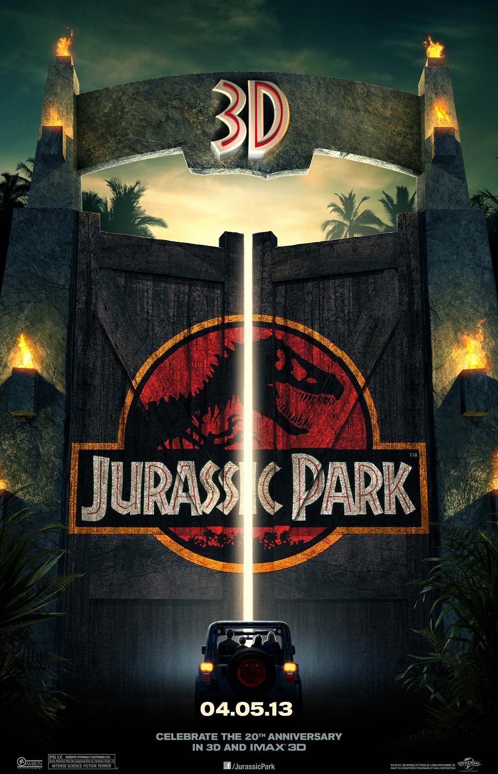 """4.""""Джурасик Парк"""" (комерсиален филм) – Почти 20 години след като сблъсква света с акулата от """"Челюсти"""", Спилбърг смайва зрителите с приключенски филм, въртящ се около динозаври в модерен резерват. Визуалните ефекти зашеметяват, а паметните реплики и моменти от филма следват една след друга. Тази година очакваме поредното попълнение към поредицата, озаглавено """"Джурасик Свят: Рухналото кралство""""."""