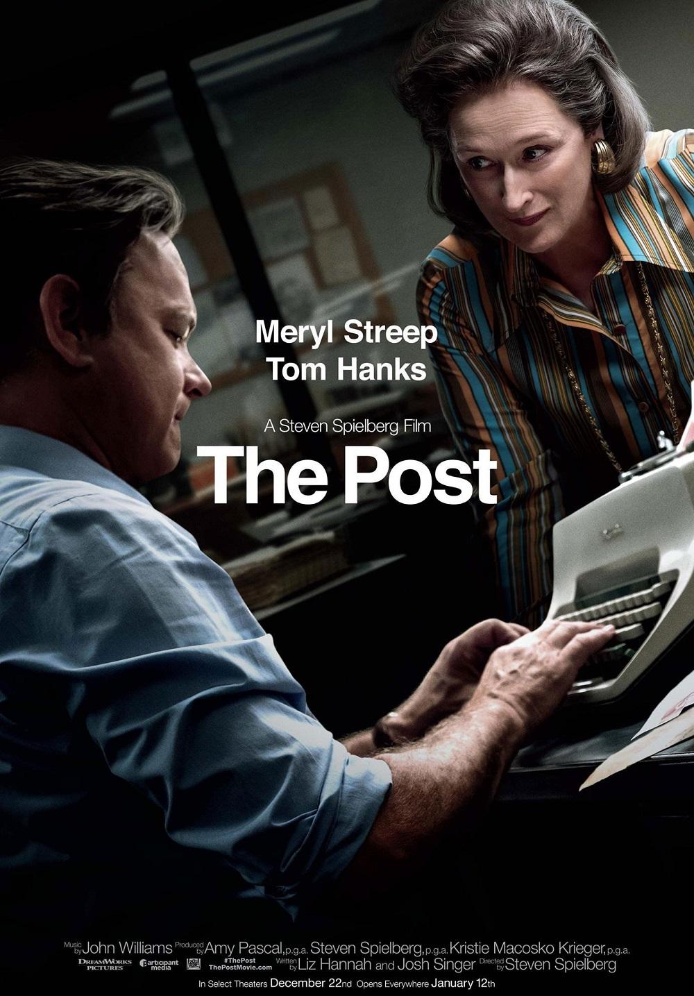 """9.""""Вестник на властта"""" (престижен филм) – Подобно на """"Специален доклад"""", и този навременно направен и актуален филм за свободата на пресата няма нужда от повече реклама от имената на Спилбърг, Ханкс и Мерил Стрийп. Лентата, която все още е по кината у нас, разказва истинската история на журналисти, опитали се да разкрият тайни за американското участие във Виетнамската война, и показва режисьора в топформа след почти 50 години, прекарани в киноиндустрията"""