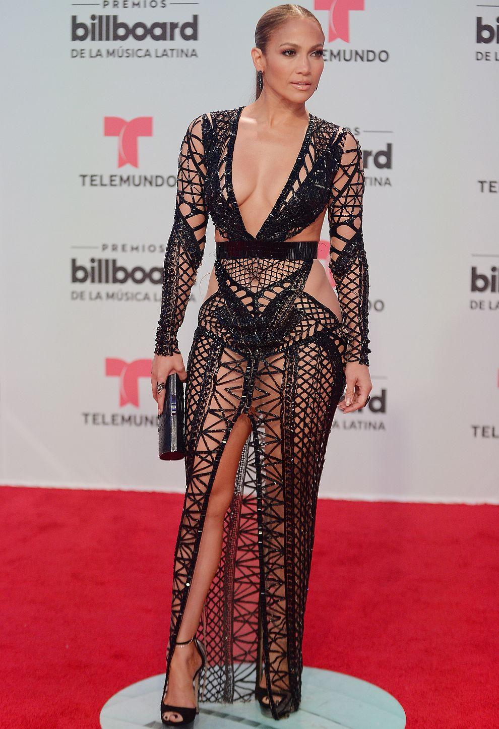 Дженифър Лопес в JULIEN MACDONALD на латино наградите на Билборд в Маями