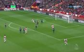 Обамеянг изравни за Арсенал след образцова комбинация