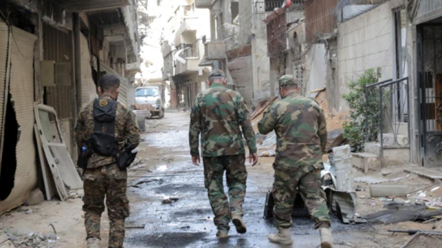 Източна Гута, Сирия