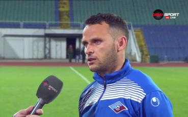 Богомил Дяков: Имаме бонуси за седмото място