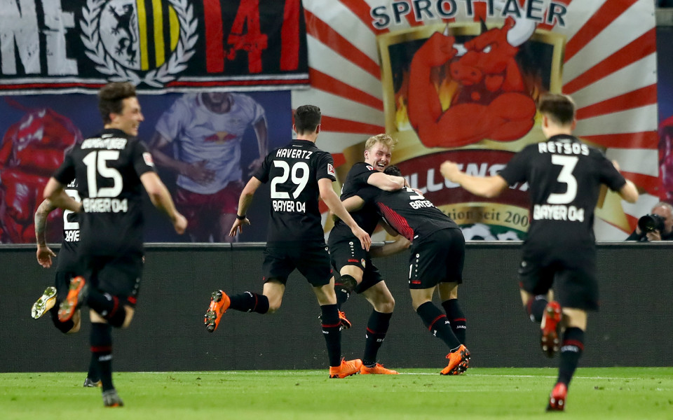 Леверкузен зае 4-ото място в Бундеслигата