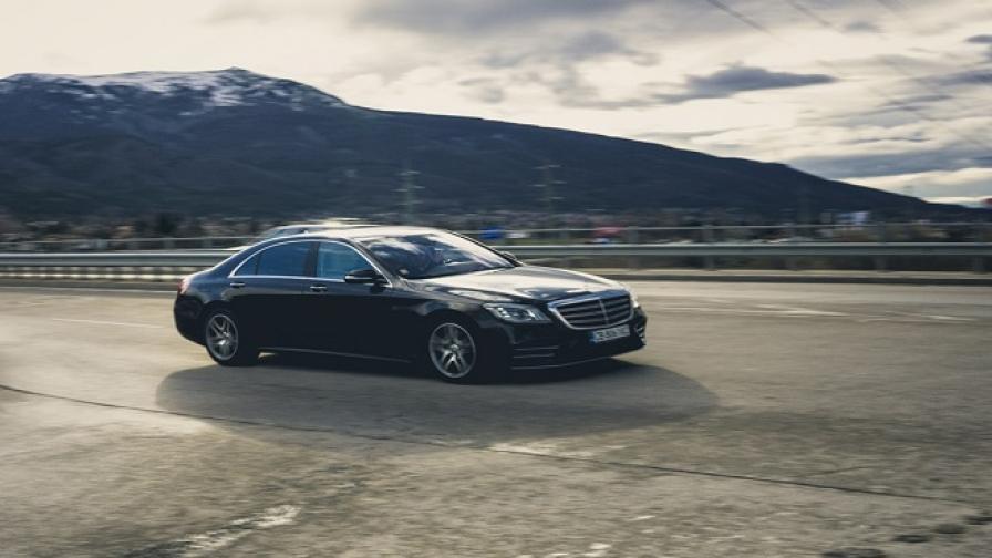 Игра на тронове: Mercedes-Benz S560 L (тест драйв)