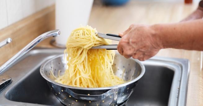 Всички рецепти за паста започват по един и същ начин
