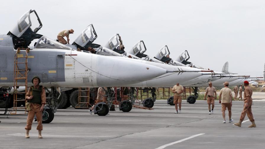 С какви военни сили разполага Русия в Сирия