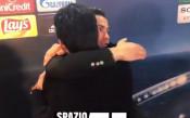 Роналдо и Буфон с открит урок на тема