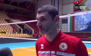 Сашо Попов след второто поражение в Бургас: Серията е равностойна
