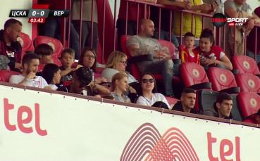 Каранга гледа ЦСКА и Верея на рожденния си ден