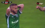 Левски - Лудогорец 0:0 /първо полувреме/