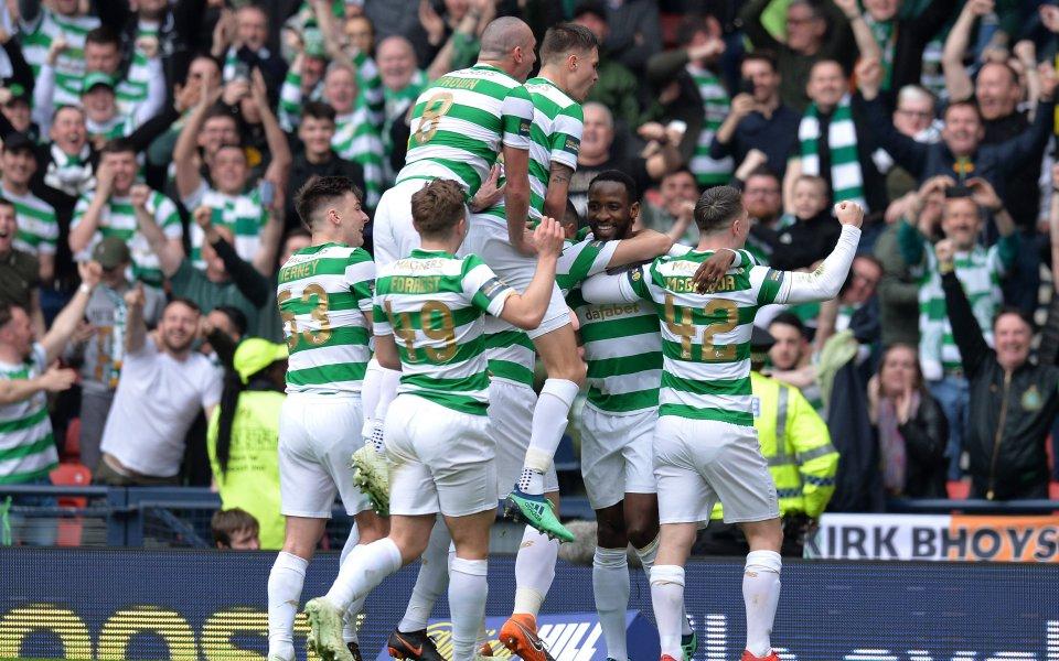 Селтик се класира за финала за купата на Шотландия