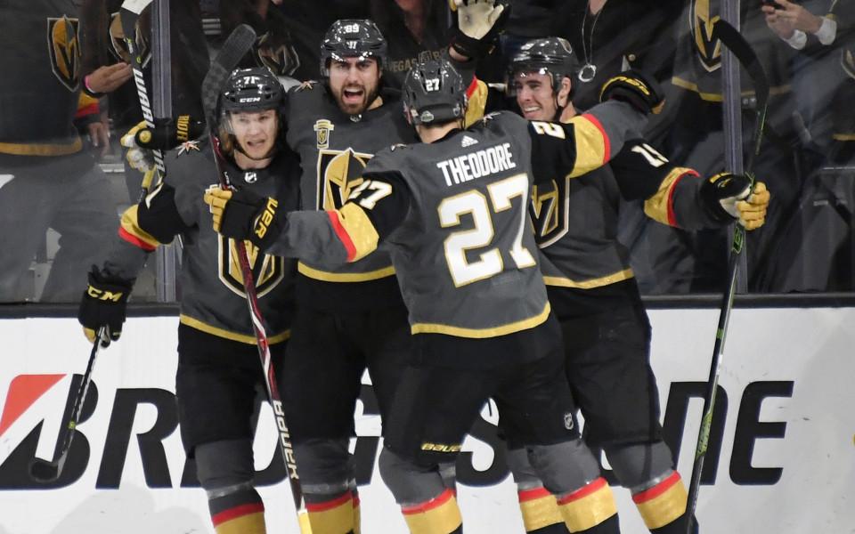 Лас Вегас на победа от втория кръг на плейофите в НХЛ, резултати