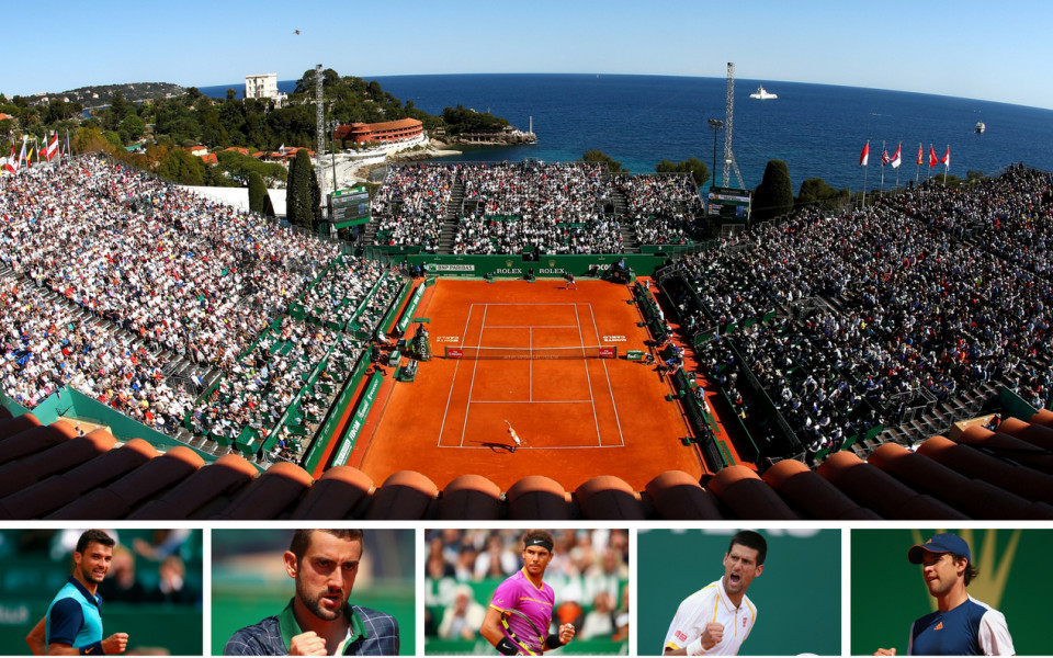 Червеното тенис шоу започва в Монте Карло