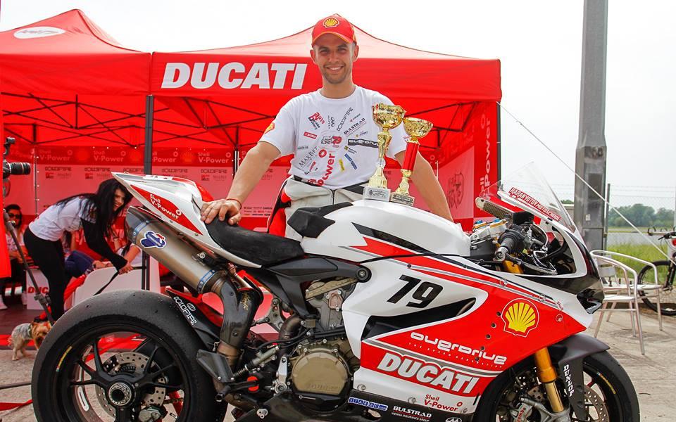 Ангел Караньотов с рекорд за най-бърза обиколка на пистата в Серес