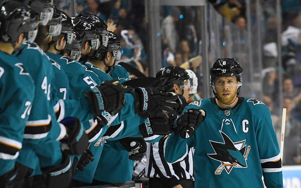 Сан Хосе разгроми Анахайм в НХЛ, резултати