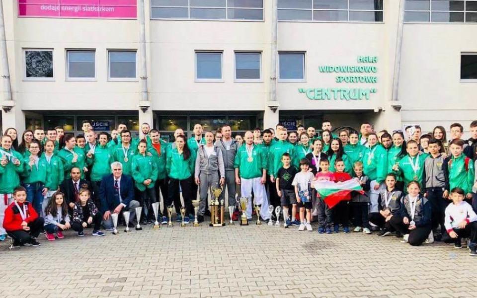 20 медала за България от европейското по шотокан карате-до