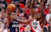 Ню Орлиънс отново надви Портланд в НБА, резултати