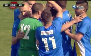 Попадението на Денислав Станчев срещу Ботев Пд