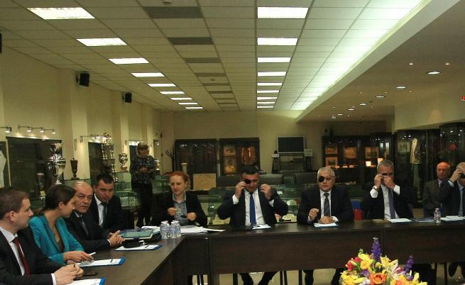 Срещата между МВР, ММС, БФС и представители на парламентарни комисии