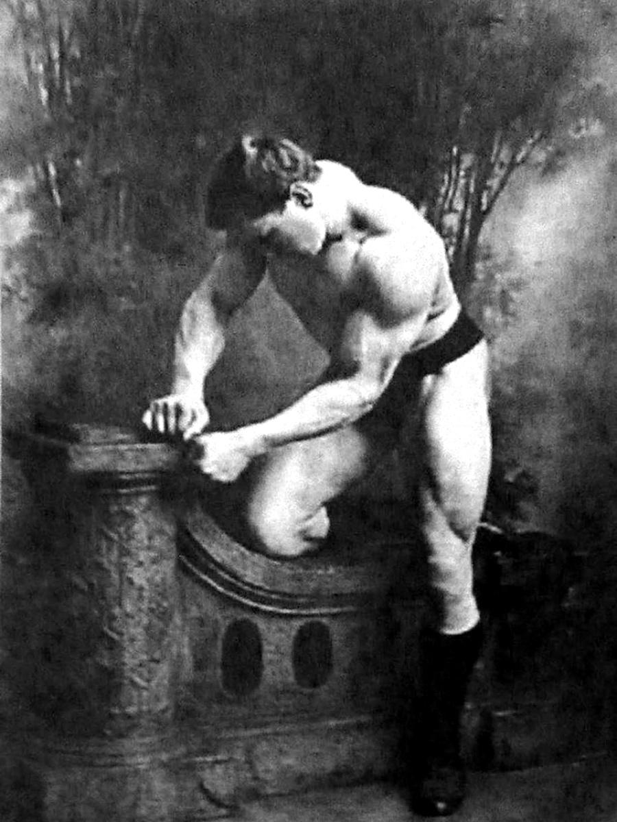 Хакеншмидт, 1900 г.