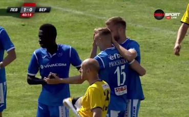 Дебютен гол за Ейолфсон в Първа лига