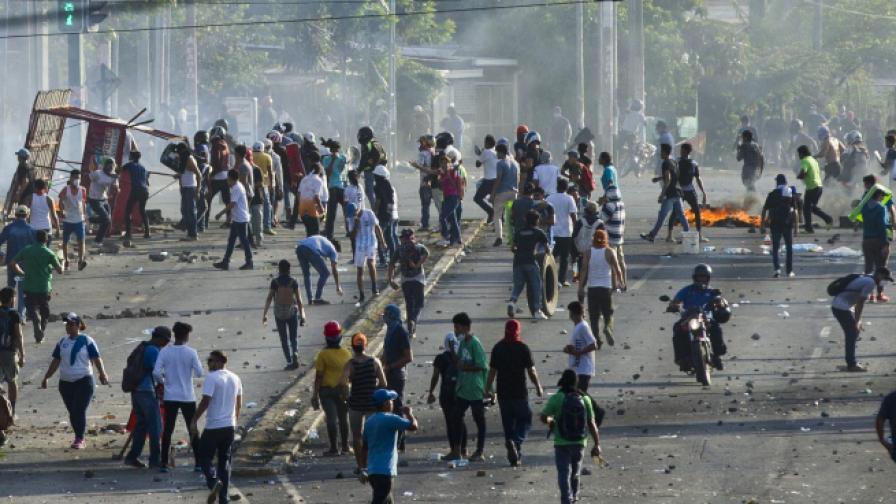 Най-малко 10 убити при протести в Никарагуа