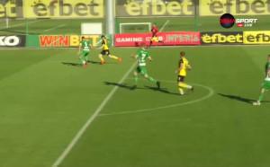 Прекрасна контра за Ботев и четвърти гол в мача, но нямаше ли фаул?