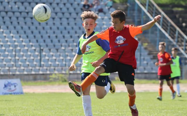 Днес на градския стадион в Плевен се изиграха първите мачове