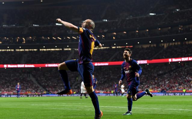 Андрес Иниеста вкара може би последния си гол с екипа
