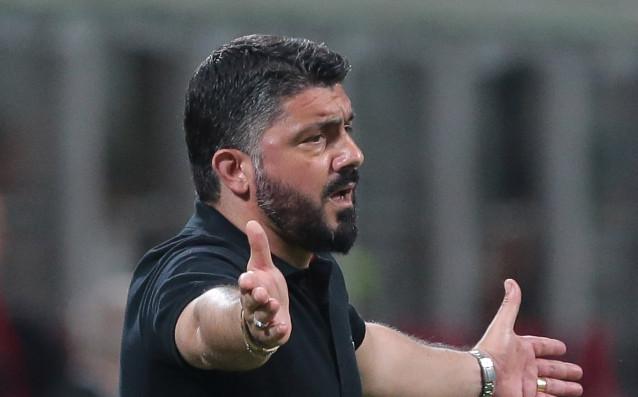 Треньорът на Милан Дженаро Гатузо реагира остро след изненадващата домакинска